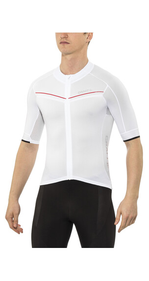 Craft Tech Aero Jersey Men white/bright red/black